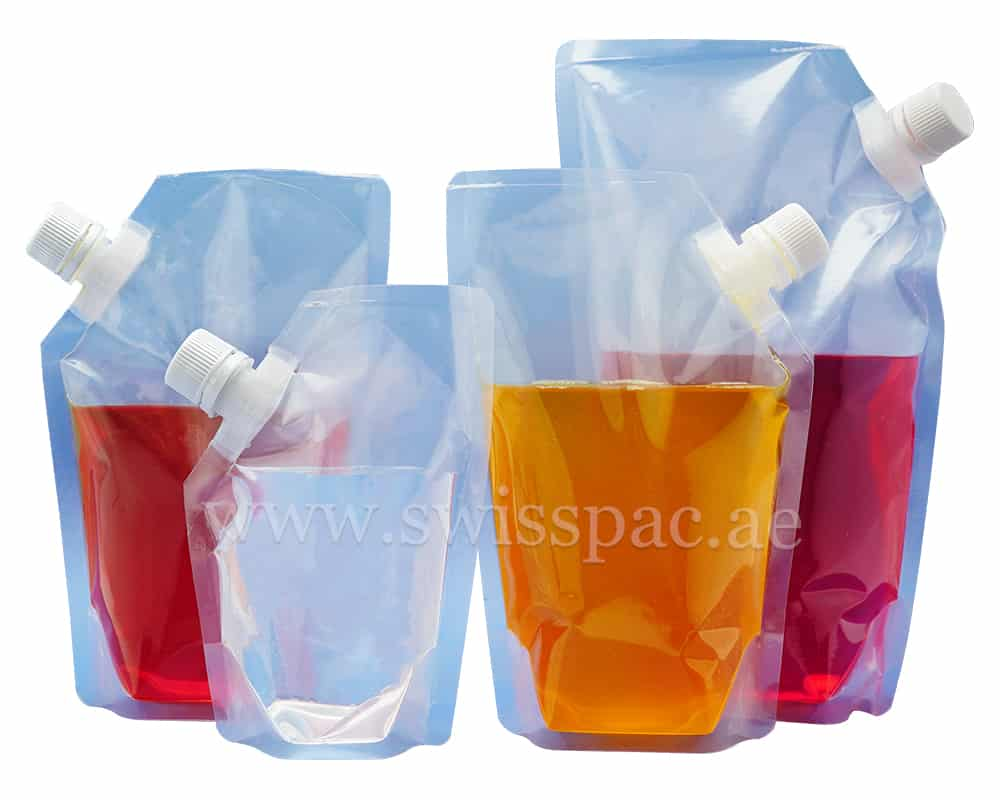 Spout Pouches Liquid Packaging Pouches Stand Up Pouch