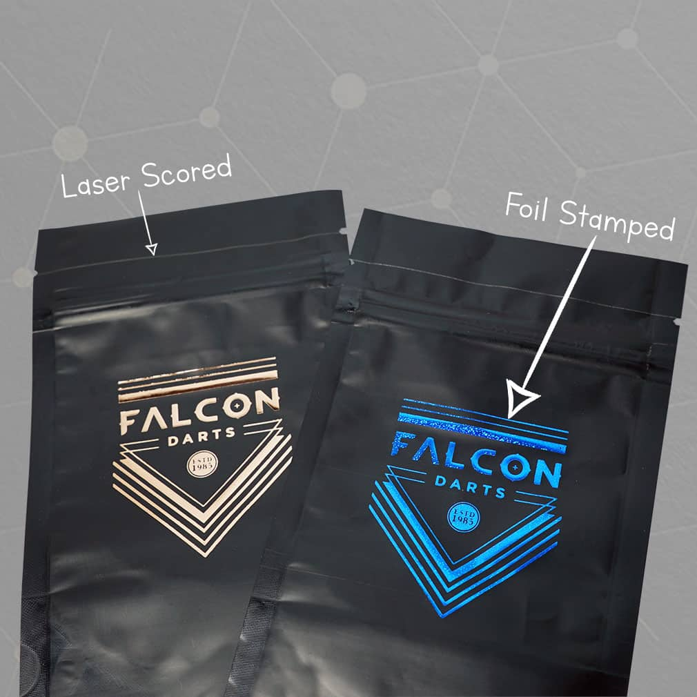 Foil Stamped Pouches
