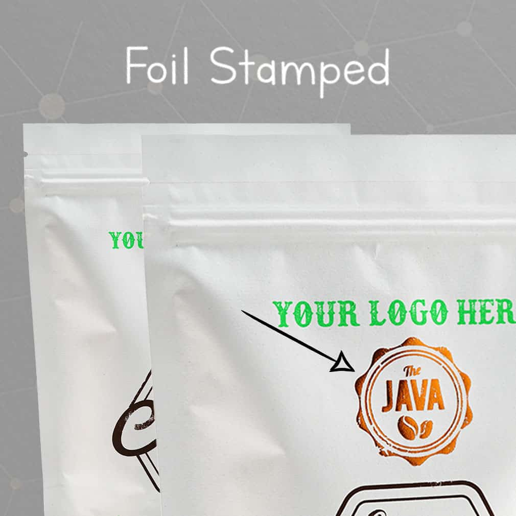 Foil Stamped Bags