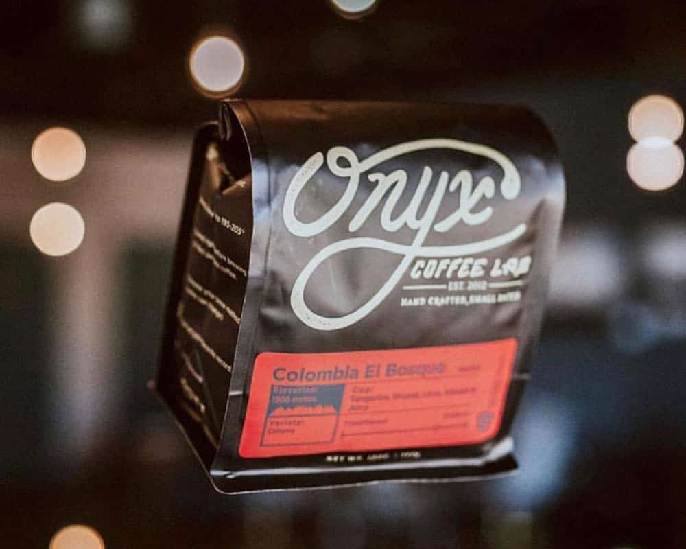 Roasted coffee beans packaging
