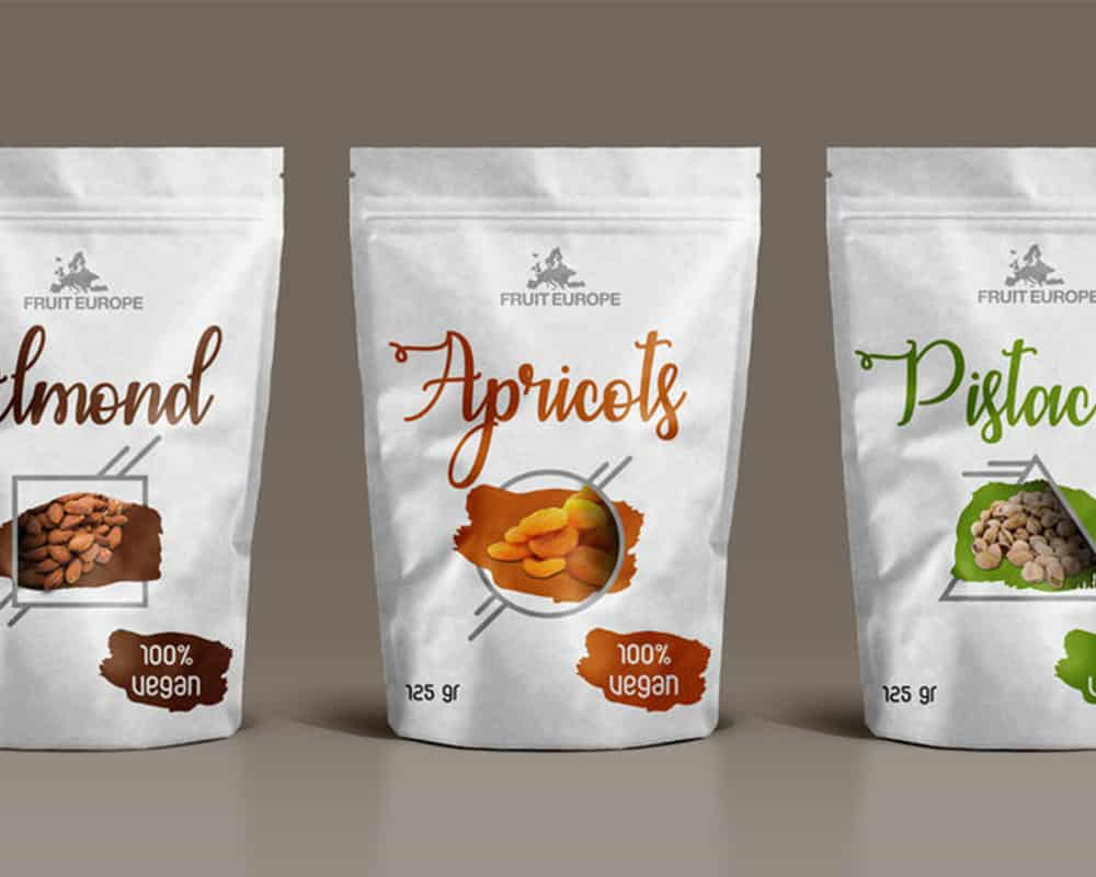 Nuts and Dried Fruit Packaging