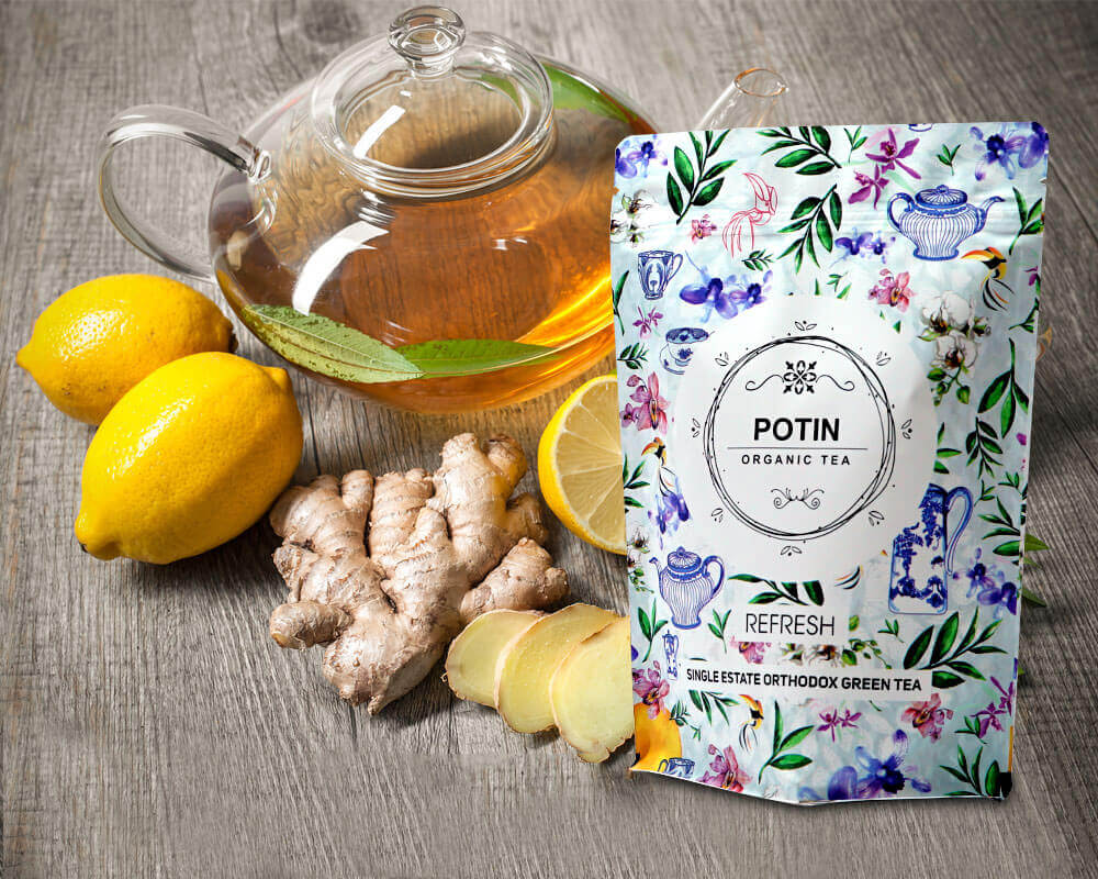 Organic Tea Packaging Pouches