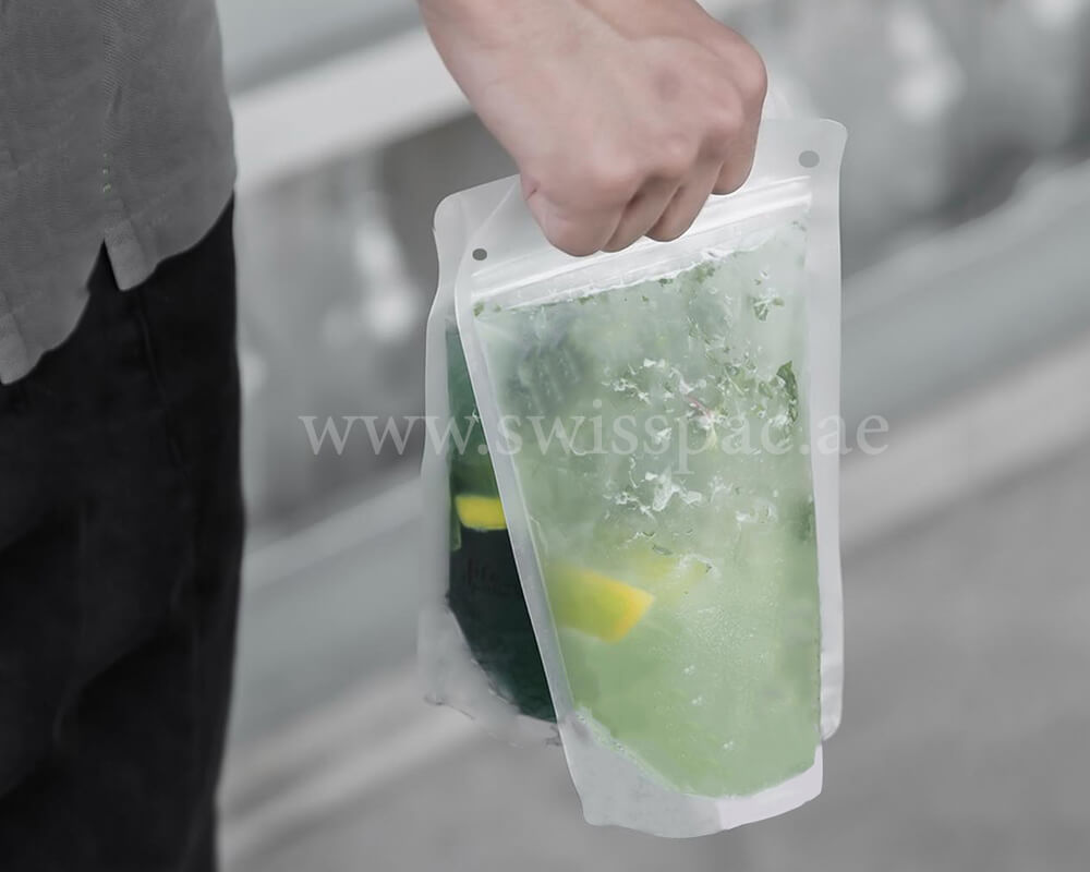 Lemon Juice Packaging Bags